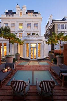 A townhouse in London