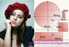 """Photo from album """"cr mac nov 2014 on Yandex. Hat Patterns To Sew, Sewing Patterns, Mode Turban, String Art Tutorials, Types Of Hats, Fairytale Fashion, Pattern Drafting, Photo Tutorial, Sewing Clothes"""