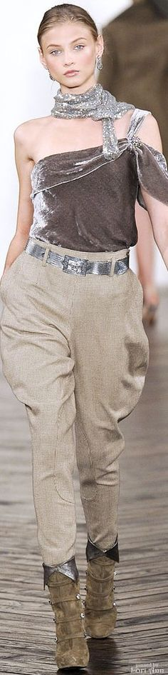 Ralph Lauren, Autumn/Winter Ready to Wear Ralph Lauren Looks, Ralph Lauren Style, Ralph Lauren Collection, All Fashion, Timeless Fashion, Autumn Fashion, Womens Fashion, Vintage Fashion, Flare Top