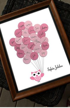 Lovely Distinctive Child Bathe Visitor Ebook Print  Owl with by SayAnythingDesign, $39.seventy five...