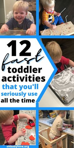 Lots of toddler activities that are easy to put together from things around your home. These activities include indoor and outdoor suggestions that should last 30 to 45 minutes! #toddlerfun #toddler #toddleractivity #toddleractivities Toddler Playroom, Toddler Age, Toddler Head Injury, Hands On Activities, Toddler Activities, First Trimester Tips, Toddler Lunches, Water Party, Toddler Discipline