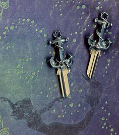 every mermaid needs her anchor...to open her door...#keystomycastle.com