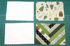 French Braid Mug Mat — Crafty Staci Scrap Quilt Patterns, Mug Rug Patterns, Sewing Patterns, Small Sewing Projects, Sewing Crafts, Craft Projects, Braid Quilt, Quilt Blocks Easy, Mug Rug Tutorial