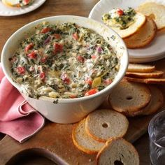 21 Appetizer Recipes for Your Holiday Party - Delight your guests with these holiday appetizer recipes perfect for celebrating the season. Find festive takes on stuffed mushrooms, crostini, cheese spread, spinach dip and more crowd-pleasing appetizers. Slow Cooker Appetizers, Appetizer Dips, Slow Cooker Recipes, Appetizer Recipes, Crockpot Recipes, Cooking Recipes, Slow Cooking, Healthy Cooking, Cooking Tips