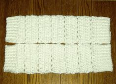 Free Crochet Pattern For Leg Warmers.