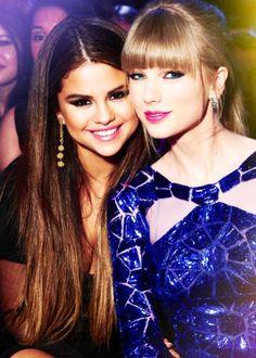 Taylor Swift & Selena Gomez best friends forever.