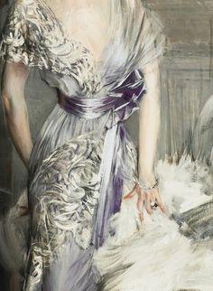 Giovanni Boldini ITALIAN PORTRAIT OF CELIA TOBIN CLARK