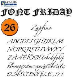 Imprint the best design blog written by top illustrators zapfino is a calligraphic typeface designed for linotype by typeface designer hermann zapf in 1998 altavistaventures Choice Image