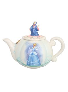 Disney Cinderella Carriage Teapot | Hot Topic  My favorite of the Disney movies from when I was little