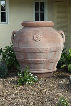 We Love When Pottery Is The Star Of A Design. This Large Italian Terracotta  Orcio
