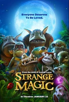 Check out my review of Strange Magic in theaters TODAY! You don't want to miss this magical, musical love story! #StrangeMagic http://momonthemap.com/review-strange-magic-a-magical-anim…/
