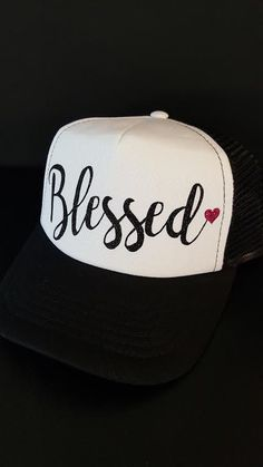 Custom Trucker Hats  blessed  truckerhat J Lindeberg a99a2ab2dba9