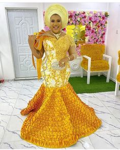 African Fashion Design Beautiful Ankara Aso Ebi Styles for the Next Party