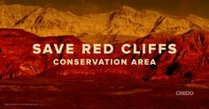 We can't let Congress give away Utah's Red Cliffs Conservation Area to the fossil fuel industry. Sign the petition.
