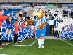Colchester United - Eddie the Eagle.