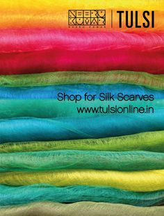 Silk Slippage Stoles #Stoles #Silk #Colorful