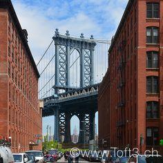 Manhattan Bridge, Brooklyn