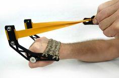 GloveShot Slingshot. Interesting. Bug out bag for small game