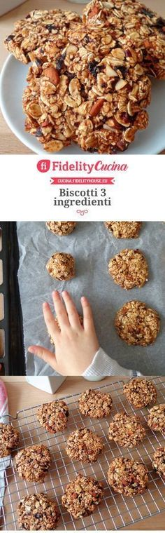 Biscotti 3 ingredienti