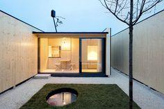 Micro Courtyard House / Atelier Kaiser Shen © Nicolai Rapp