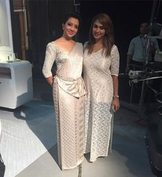 Sachini Ayendra Saree Styles, Blouse Styles, Saree Gown, Sari, Christian Bridal Saree, Saree Jacket Designs, Saree Jackets, Elegant Saree, Beautiful Saree
