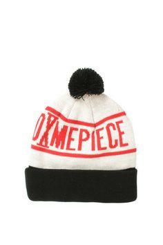 f7af421ad6c DimePiece LA - Pom Pom Beanie (Red White Black)