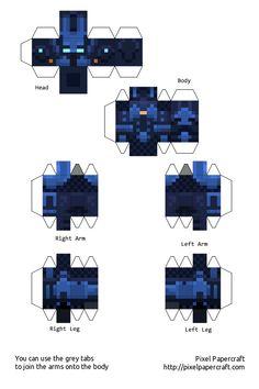 Papercraft Minecraft Xbox 360 Skin Pack 2 Minecraft Templates, Minecraft Blocks, Minecraft Images, Minecraft Projects, Minecraft Crafts, Minecraft Skins, Papercraft Minecraft Skin, Paper Toys, Paper Crafts