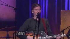 """George Ezra sings """"Budapest"""" on Ellen - 23/1/2015"""