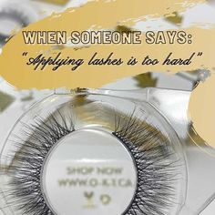Visit www.o-k-t.ca to Shop Now! The best lashes for under $20 CAD! OKT is an online beauty and boudoir boutique based out of Edmonton Alberta. Ships Globally! Canadian, Female-Owned Business. OKT Luxury Lashes. How to apply false eyelashes. The best false eyelashes. Best False Lashes for beginners, beginner makeup tutorial. DIY Lash Extensions. Easy makeup tips. Dramatic makeup looks. Women empowerment. Makeup artist favorite lashes. Best False Lashes, Applying False Eyelashes, Fake Lashes, Easy Makeup, Eye Makeup Tips, Simple Makeup, Beginner Makeup, Makeup Tutorial For Beginners, Dramatic Makeup