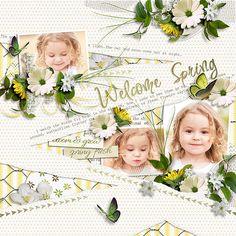 Welcome+Spring - Scrapbook.com