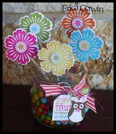 stampin up stamps and punch