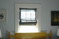 Make shades out of your mini blinds.  What a great idea.  Fabric shades can get pretty pricey.  This tutorial helps you turn mini blinds into a fabric shade.