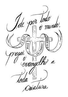 Frases                                                                                                                                                                                 Mais God Jesus, Jesus Christ, King Jesus, Bibel Journal, Jesus Wallpaper, Jesus Resurrection, Lettering Tutorial, Jesus Freak, My Church