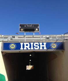 Notre Dame tunnel.