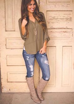 Distressed jeans I actually like...