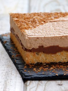 chic,chic,choc...olat: Royal caramel {mousse chocolat au lait caramel, croustillant praliné et dacquoise}