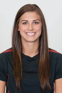 Alex Morgan Portland thorns watched her on Saturday July 6th at 7:30