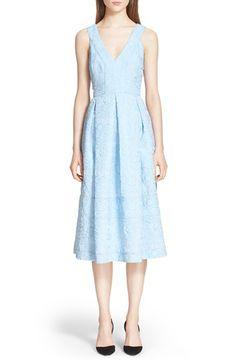 Erdem 'Fabrizia' V-Neck Cloque Dress available at #Nordstrom