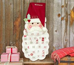Just ordered a Santa Face Advent Calendar from Pottery Barn Kids. It is perfect now that that my Little One is old enough to be able to do it properly.