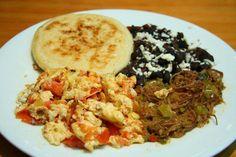 Desayuno criollo de Venezuela!