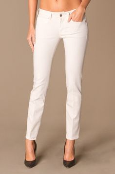 Vanessa Bruno Slim-Fit Jeans - Ecru