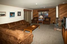 Where To Stay: this one level, two bedroom condominium is located on the first floor in building #2 of Aspen Creek in Mammoth Lakes. It overlooks grassy area in the summer towards Majestic Pines street.