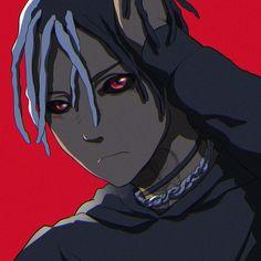 Anime Rapper, Rapper Art, Dope Cartoons, Dope Cartoon Art, Arte Dope, Dope Art, Cute Anime Profile Pictures, Black Art Pictures, Trippie Redd