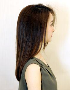 石原さとみサン風さらさらストレート(WA-508)   ヘアカタログ・髪型・ヘアスタイル AFLOAT(アフロート)表参道・銀座・名古屋の美容室・美容院