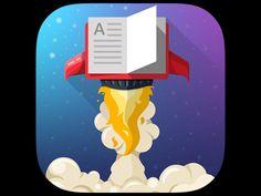 icon for reader app by Rustem Ramadanov