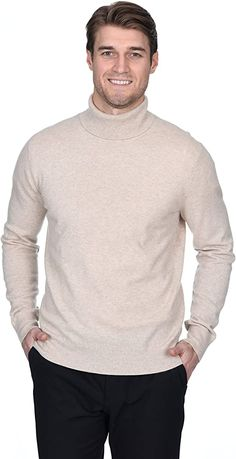 Mens Cable Knit Sweater, Mens Turtleneck, Cashmere Turtleneck, Cashmere Wool, Pullover Sweaters, Men Sweater, Slim Fit Tuxedo, Outfit Invierno, Turtle Neck