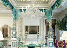 Interior Fit Out, Home Interior Design, Interior And Exterior, Luxury Home Decor, Luxury Interior, Luxury Homes, Royal Bedroom, Mansion Interior, Interior Design Companies