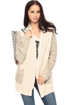 Sweet Story Cable Knit Cardigan