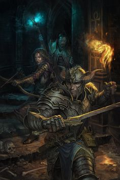 Dungeon Crawl, Eric Polak on ArtStation at http://www.artstation.com/artwork/dungeon-crawl-339a5dc4-0686-4888-ba77-94dd723b006e