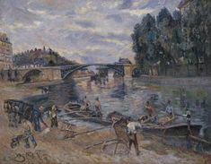Armand Guillaumin - Pont de Sully, Paris 1880